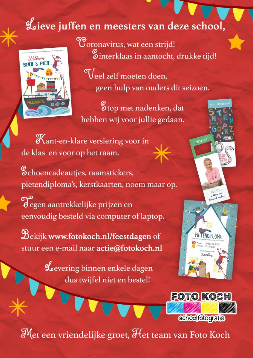 Feestdagen Sinterklaas voorkant